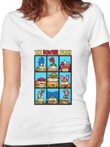 The Bowser Bunch Women's Fitted V-Neck T-Shirt