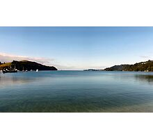 View of the ocean from Sandspit Photographic Print