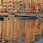 Summer Reflections (St Julians Malta) by Edwin  Catania