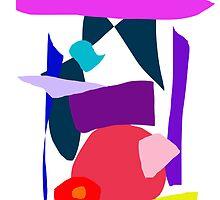 Time Curiosity Elegant Square Fruit Echo by masabo