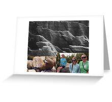Pancake Rocks Greeting Card