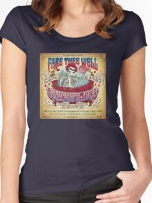fare thee well - grateful dead Women's Fitted Scoop T-Shirt