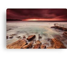Breaking through the Storm Canvas Print