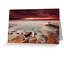 Breaking through the Storm Greeting Card