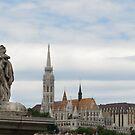 Guardian of the Széchenyi Chain Bridge... by Blagnys
