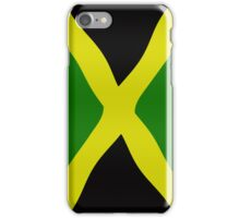 Jamaican flag iPhone Case/Skin