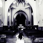 Girl in the Church by JennyRainbow
