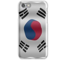 Korean flag iPhone Case/Skin
