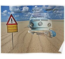 Accident on dream beach.... Poster