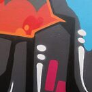 Adelaide Street Art by Marguerite Foxon