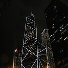 Hong Kong at Night by jeffreynelsd
