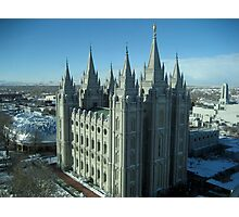 Salt Lake City Temple Photographic Print