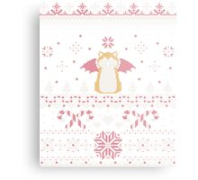 Ugly Holiday Sweater (Pink) Metal Print