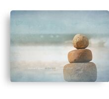 you are my rock Canvas Print