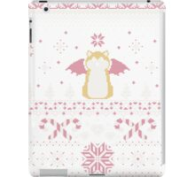 Ugly Holiday Sweater (Pink) iPad Case/Skin