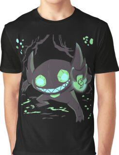 Sableye In A Cave Graphic T-Shirt