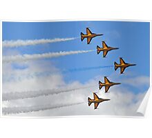 Black Eagles @ Waddington Airshow 2012 Poster