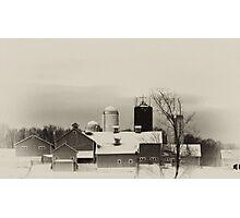 Happy Farm Photographic Print