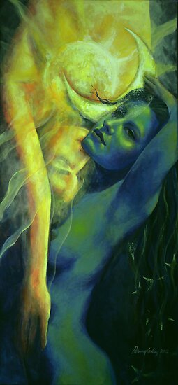 """Ilussion in The Mirror... from """"Impossible Love"""" series by dorina costras"""