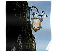 Rye, East Sussex - Mermaid Inn Sign Poster