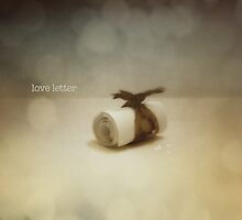 love letter by © Karin  Taylor