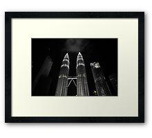 Patronas Towers Framed Print