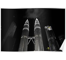 Patronas Towers Poster