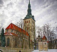 St Nicholas Church , tallinn , estonia by gruntpig