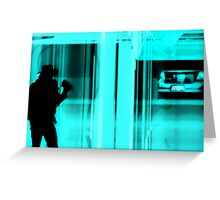Private Eyes Greeting Card