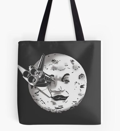 Méliès's moon: Times are changing. Tote Bag