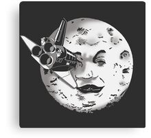 Méliès's moon: Times are changing. Canvas Print