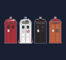 """The Icons have the phonebox..."" Kids Clothes"