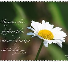 Isaiah 40:8 by DreamCatcher/ Kyrah Barbette L Hale