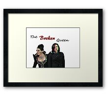 Regina Mills - The Broken Queen Framed Print