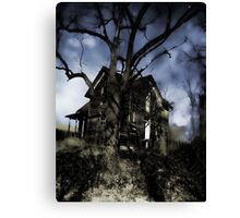 House On Haunted Hill Canvas Print