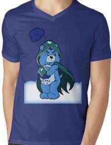 Grumpy Jace Bear Mens V-Neck T-Shirt