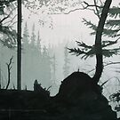 Perylene Green by Douglas Hunt