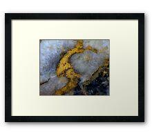 The Golden Sickle Framed Print