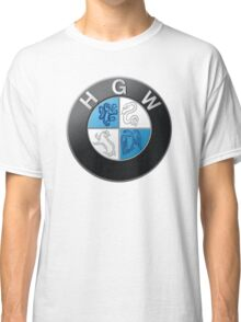 Harry Potter HGW HoGWarts (BMW logo) Classic T-Shirt