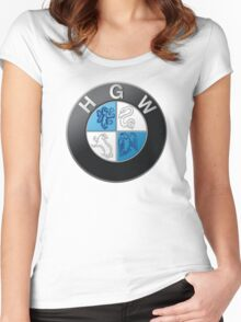 Harry Potter HGW HoGWarts (BMW logo) Women's Fitted Scoop T-Shirt