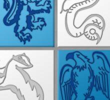 Harry Potter HGW HoGWarts (BMW logo) Sticker