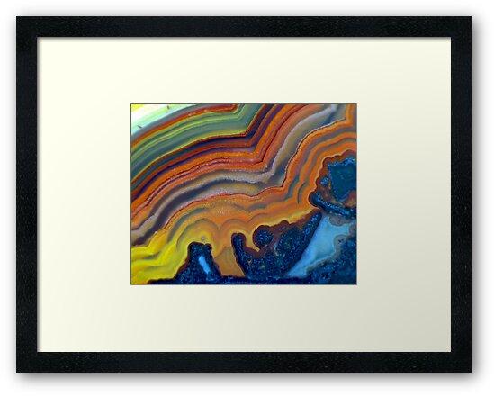 Waves (Lace Agate) by Stephanie Bateman-Graham