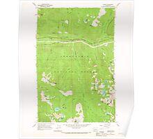 USGS Topo Map Washington State WA Scenic 243593 1965 24000 Poster
