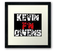 Kevin F'N Owens Framed Print