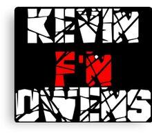 Kevin F'N Owens Canvas Print
