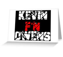 Kevin F'N Owens Greeting Card