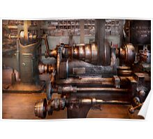 Machinist - Steampunk - 5 Speed Semi Automatic Poster