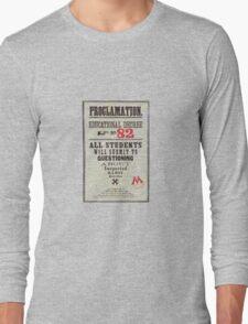 Umbridge Proclomation number 82 Long Sleeve T-Shirt