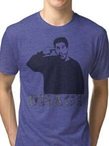 The one with UNAGI! Tri-blend T-Shirt