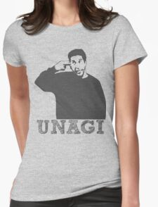 The one with UNAGI! Womens Fitted T-Shirt